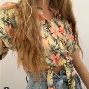 American eagle tropical (Hawaiian) shirt